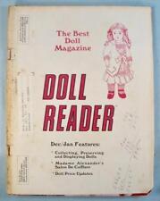 Doll Reader Vintage Collectors Magazine December 1983 Invierno Winter Anili (O)