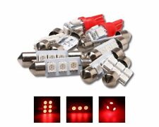 7x Red Interior Car Light Bulbs LED Kit Fit 2006-2008 Honda Civic Coupe Sedan US