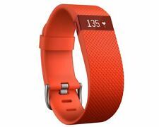 Fitbit Charge Heart Rate Monitor and Activity Tracker, Color- Orange, Size-...
