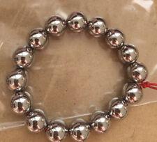 TA2 Titanio Cuentas De Perla Con Agujeros Puede hágalo usted mismo Pulsera Collar De Perlas De Buda