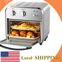 Geek Chef 10.5QT Convection Air Fryer Dehydrator Rotisserie Oven Oilless Toaster