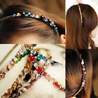 Boho Lady New Colorful Rhinestone Crystal Hair Barrette Hairpin Clip Headband