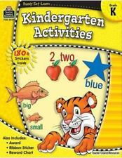 Ready-Set-Learn: Kindergarten Activities by Teacher Created Resources Staff, Goo