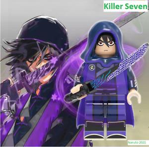 New Minifigures lego MOC ASSASIN SEVEN NARUTO Naruto Shippuden Ninja Character