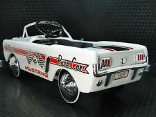 1965 Mustang Ford Pedal Car A Vintage Hot T Rod  Midget Metal Model GT