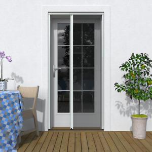 Insektenschutz Plissee Tür Breite 125 x Höhe 220 cm