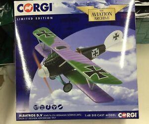 Corgi AA37807 1/48 Albatross D.V Ltn. Hermann Goring JAFU, Jasta 27, 1917