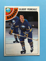 Gilbert Perreault 1978-79 O-Pee-Chee Hockey Card #130 Buffalo Sabres