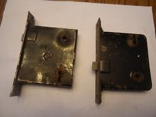 2-  antique old vintage mortise locks.
