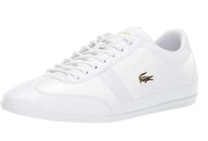 Lacoste Men's Misano Sneaker White Various Sizes