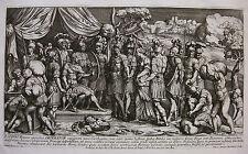 G. ROMANO ´DIE ENTHALTSAMKEIT SCIPIOS; THE CONTINENCE OF SCIPIO´ BARTOLI ~1690