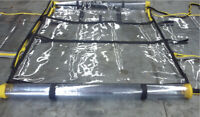 Universal Forklift Cab Enclosure Cover, Waterproof Windshield Rain Canopy Cover