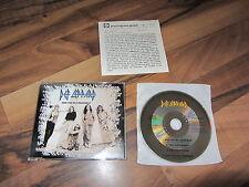 DEF LEPPARD Miss You In A OOP 1994 GERMANY CD single demo trks + german info