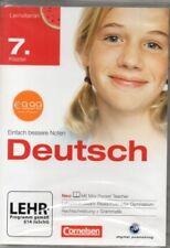Cornelsen - Lernvitamin Deutsch Klasse 7 - Realschule und Gymnasium - PC Softwar