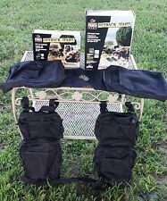 """MOSSY OAK"" WOLF POWER SPORTS ~ATV TANK SADDLEBAG & FENDER BAGS~ BLACK"