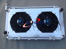For Patrol GQ 2.8 4.2 DIESEL TD42 & 3.0 PETROL Y60 Aluminum Radiator+Fans+Shroud