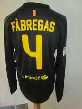 Barcelona 2011-2012 Fabregas 4 Away Football Shirt Long Sleeves BNWT Large /sh