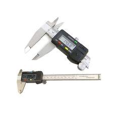 """DIGITALE Vernier PINZA FRENO 6 """"elettronica Micrometro MISURAZIONE MISURATORE PRECISIONE"""