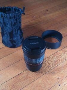 ROKINON MF 85mm f/1.4 Series II Telephoto Lens - MFT