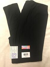 LuLaRoe TC2 Leggings Tall & Curvy2 Solid Black Noir Collection
