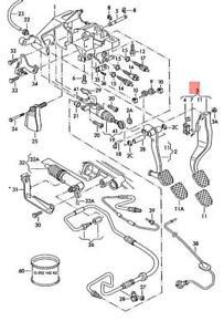 Genuine AUDI VW SKODA A4 Avant S4 quattro A6 allroad Brake Pedal 8D1721140B