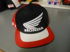 Fox Racing Honda Baseball MX Hat Cap Black And Red 21117-017 In Stock