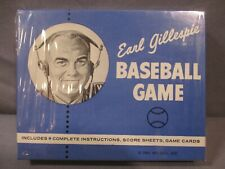Earl Gillespie BASEBALL GAME Sealed w/ Cards 1961 Wei-Gill Inc. Vintage