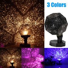 Star Sky Projector Night Light Bulb Lamp Romantic Cosmos Astro Galaxy Room Decor