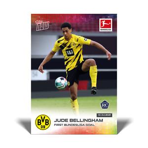 International Ship - Jude Bellingham RC - 4/10/21 Bundesliga Topps Now Card #165
