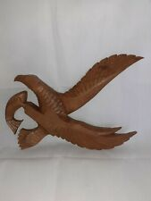 Wooden Big Wall Hanging Bird.