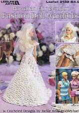 Hawaiian Honeymoon Fashion poupée crochet Pattern Barbie et Ken 14 Designs