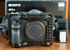 Sony Alpha A7S II 12.2MP Digital Camera Body - Cage, Batteries, Charger & Strap