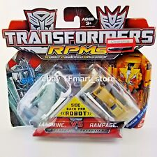 Transformers RPMS Landmine vs Rampage Battle Series 06 Robot Car Machines NEW