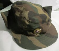 Croatian army,Croatian soldie peaked cap with badge - military hat, CRO ARMY !