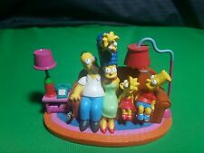 """The Simpsons """"Couch Classic"""" Family Couch Gags #1989A- 2003 Hamilton Collection"""
