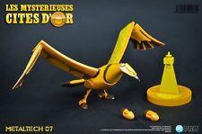 Les Mystérieuses Cités d'or Metaltech 07 Le grand Condor d'or Réplique 15 x 38cm