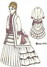 "Doll Period walking Dress Pattern size 18""-19"" German Freanch Fashion"