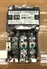 CUTLER-HAMMER A10CN0A STARTER, NEMA SIZE 1, 120VAC Coil New