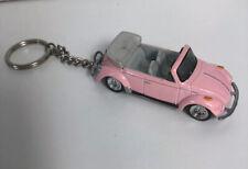 Johnny Lightning 1975 Volkswagen VW Beetle Cabriolet Pink Valentines