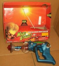 1996 Mars Attacks Movie Martian Brain Disintergrator Ray Gun Mib Trendmasters