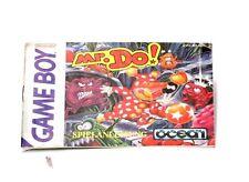 Mr. Do!  (sehr gut) Spielanleitung Gameboy Anleitung Spielbegleiter