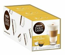 Nescafé Dolce Gusto LATTE MACCHIATO, 6er Pack, 6 x 16 Kapseln (96 Kapseln)