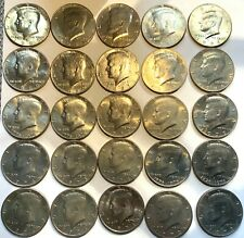 United States CN Kennedy Half Dollars - 25 Coin Lot! Mix Grade & Dates 1971-'96