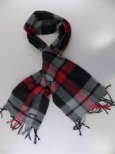 ALFANI $ MEN'S Red Plaids & Checks Acrylic UNISEX WINTER WARM Scarf G05