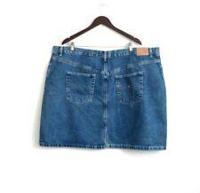 NEW! Tommy Hilfiger Woman Denim Jean Skirt Plus Size 24