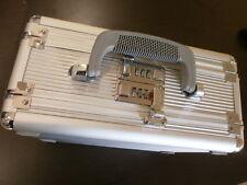 TZ 0012S Case PRO-TECH 2 sided DUELLY 12.5 INCH PISTOL foam SILVER 2 COMBO LOCKS