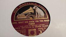 WINNIE MELVILLE LOVE WHAT HAS GIVEN YOU THIS MAGIC POWER  HMV B3885
