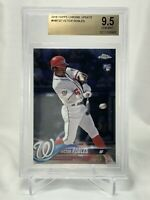 2018 TOPPS CHROME UPDATE VICTOR ROBLES ROOKIE RC | #HMT22 | BGS 9.5 GEM MINT