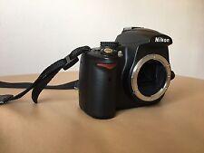 Nikon D D5000 12.3MP Digitalkamera - Schwarz (Nur Gehäuse)