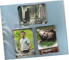 Walking Dead Road To Alexandria - 100 Card Basic Set & 2 Chase Sets -Mini Master